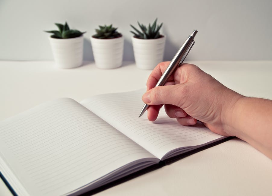 Writing-in-a-journal